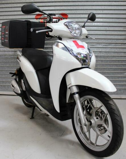 2017 17 HONDA ANC 125 H SH MODE SCOOTER LEARNER LEGAL FOOD DELIVERY HPI CLEAR