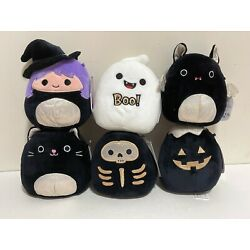 Set of 6 Squishmallows Official 2021 Halloween Squad 5