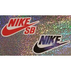 Set of 2 Nike Stickers (Varied Sizes)