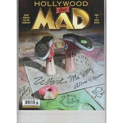MAD MAGAZINE AUGUST 2018 ISSUE #2 HOLLYWOOD GOES MAD
