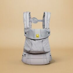 Lillebaby Complete Baby Carrier All Seasons in Stone Grey Breathable Mesh