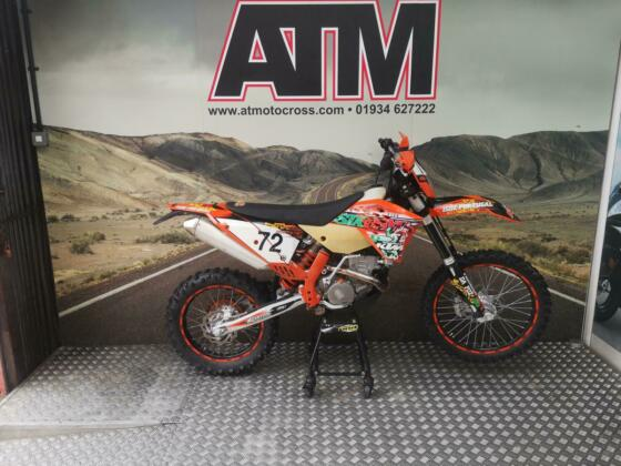 KTM EXCF250 2010 SIX DAYS, 150 HOURS, CLEAN TIDY BIKE FOR AGE (AT MOTORCYCLES)
