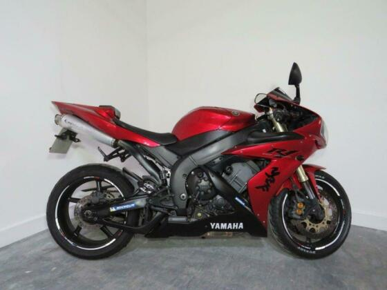2004 YAMAHA YZF-R1 YZF R1 RED NATIONWIDE DELIVERY AVAILABLE