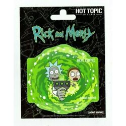 Hot Topic Gift Card - Rick & Morty - Adult Swim - HT - on Backing - No Value