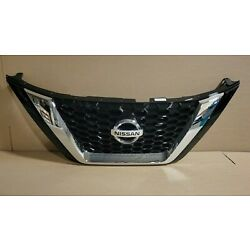 New OEM Front Grille Fits 2019-2021 Nissan Murano 62310-9UF1A  WITH CAMERA