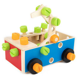 Nuts Building Blocks Disassembly Assembly Detachable Basic Skills Learning