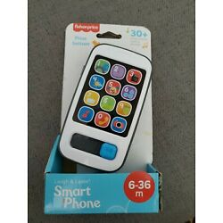 Fisher Price Laugh and Learn Smart Phone 30+ Songs Sounds Tunes & Phrases New