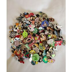NEW DISNEY TRADING PINS 50 LOT, NO DOUBLES, HIDDEN MICKEY Free First Class Ship
