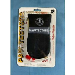 *NEW Pedigree Perfection Paw Tectors Size Med Dog Boots Shoes Protectors Black