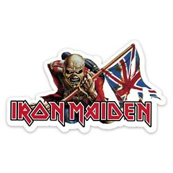 Iron Maiden The Trooper 6'' Wide Vinyl Decal Sticker - Includes Two Stickers