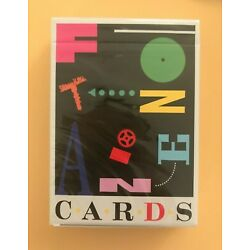 Fontaine Fever Dreams 1993 Edition Playing Cards - NEW SEALED RARE SOLD OUT