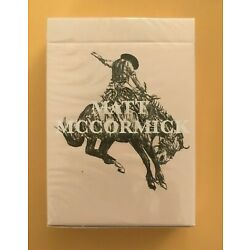 Fontaine Matt McCormick Edition Playing Cards - NEW SEALED RARE SOLD OUT