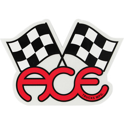 ACE FLAGS 4.75'' STICKER ASSORTED (2 pack)