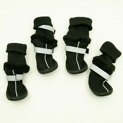 PETCO Outdoor Soft Sole Booties Size Medium Protects Your Pets Paws Black