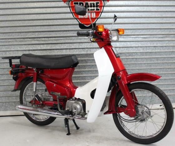1994 94 L HONDA C 90 CUB RED HPI CLEAR ONLY 3K 1 OWNER NEW MOT USABLE CLASSIC