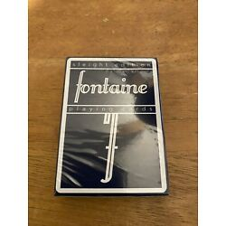Fontaine Playing Cards Sleight Edition (new sealed)