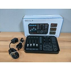 TC-Helicon GO XLR Broadcaster Platform with Mixer and Effects