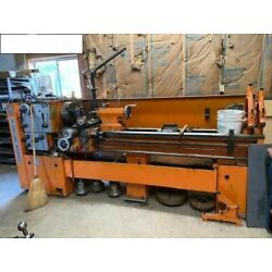 20''x 80'' Standard Modern Engine Lathe - Inch/Metric Threading, Tooling Included