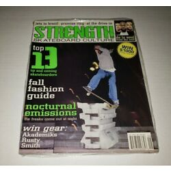 STRENGTH Skateboard Culture Magazine Issue 22 Brad Staba cover sealed Brand New