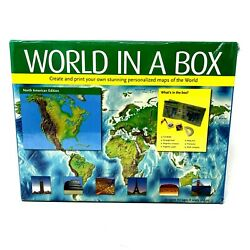New World In A Box Create and Print Maps of the World