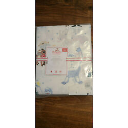 Pottery Barn Kids Rudolph Red-Nosed Reindeer Rudolph and Bumble Twin Sheet Set