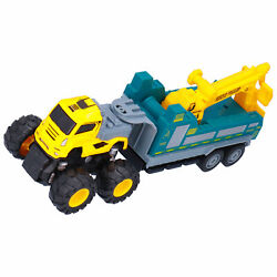 Simulation Truck 4WD Inertial Alloy Toy Car Transport Car Model Kid Game Fun Toy