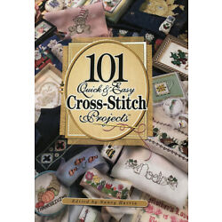 NEW ViNtAgE 101 Quick & Easy Cross-Stitch Projects PATTERN BOOK Pics 192 Pg