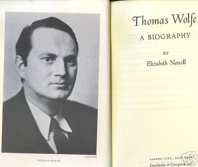 a biography of thomas wolfe the american novelist Look homeward, angel: look homeward, angel, novel by thomas wolfe, published in 1929 it is a thinly veiled autobiography the novel traces the unhappy early years of.
