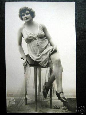 France~1920s PARIS~Erotica~Lady in Negligee~Stockings~   eBay