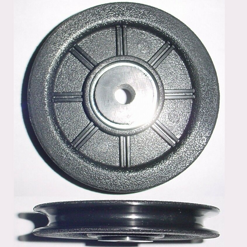 Rope Idler Pulley : Ea quot od nylon wire rope cable idler pulleys