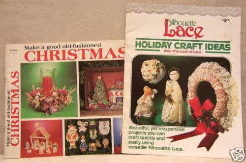 quick christmas craft ideas two booklets craft ideas amp easy projects ebay 5304