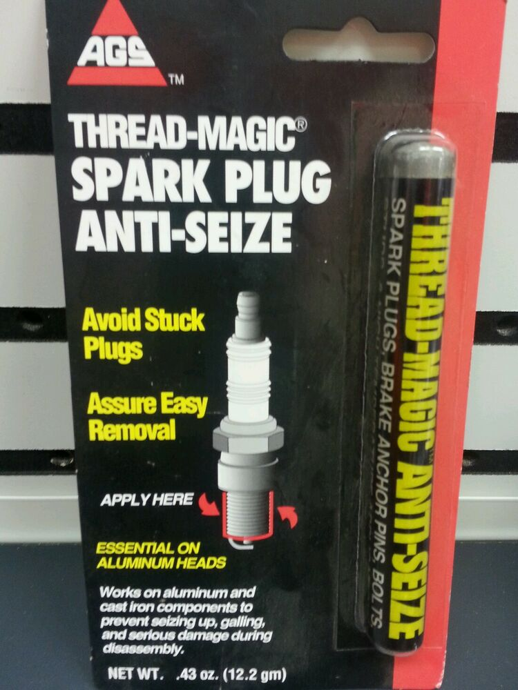 Ags Spark Plug Anti Seize Grease Lubricant Stick Ebay