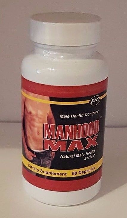 1 Manhood Max Penis Enlargement Pills Gain Grow Huge 4-6335