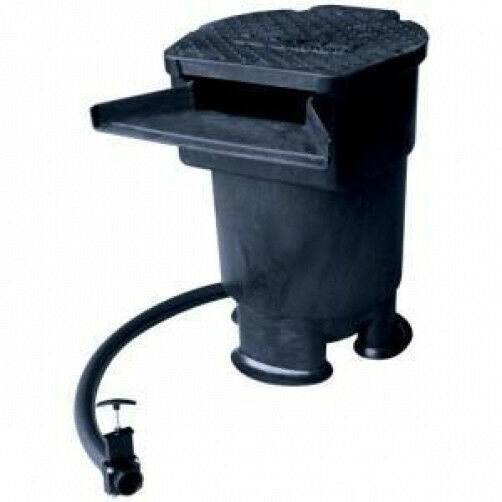 Savio waterfall filter tank w 22 inch wide spillway pond for Pond water filter