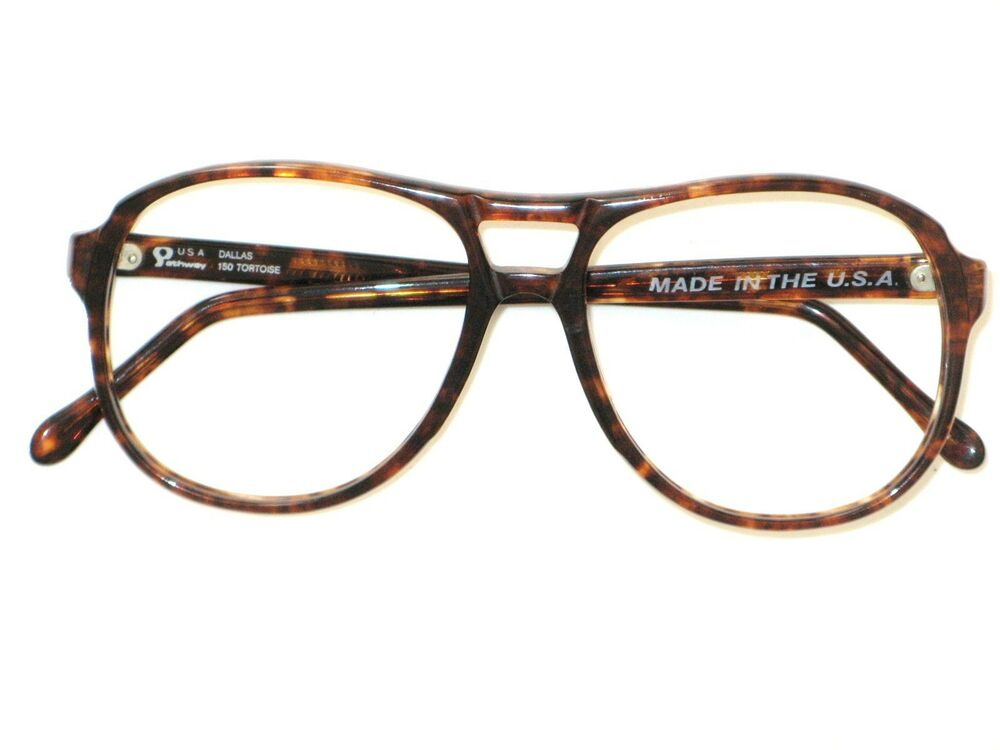 PATHWAY DALLAS TORTOISE 150 VINTAGE EYEGLASS FRAMES USA ...