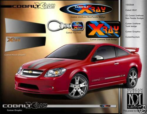 Chevrolet Chevy Cobalt X Ray Decals 05 06 07 08 09 Ebay