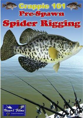 Crappie dvd crappie 101 spider rigging ebay for Spider rigs for crappie fishing
