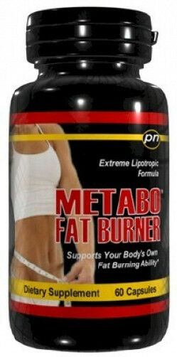 Metabo Fat Burner 60ct Diet Pills Extreme Weight Loss Burn