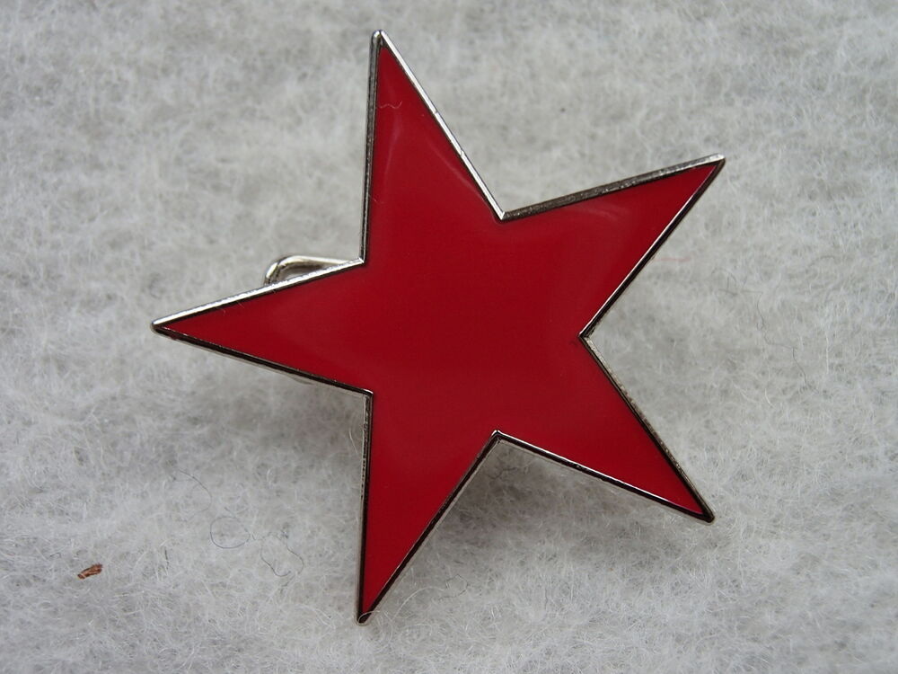 rage against the machine red star heavy metal badges. Black Bedroom Furniture Sets. Home Design Ideas