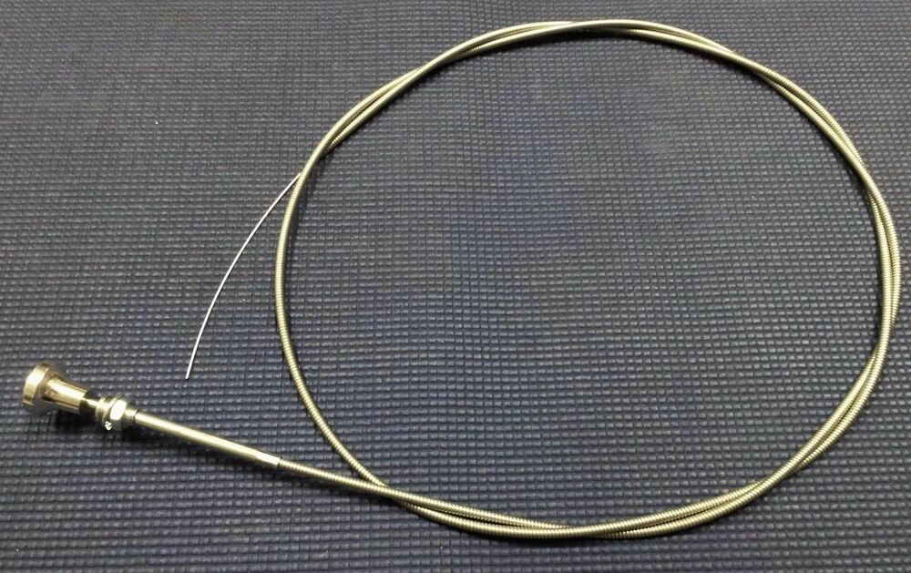 Steel Cable Assemblies : Chevrolet ford dodge pickup truck choke steel cable