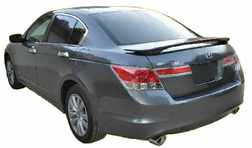 honda accord  door sedan painted factory style rear spoiler wing ebay