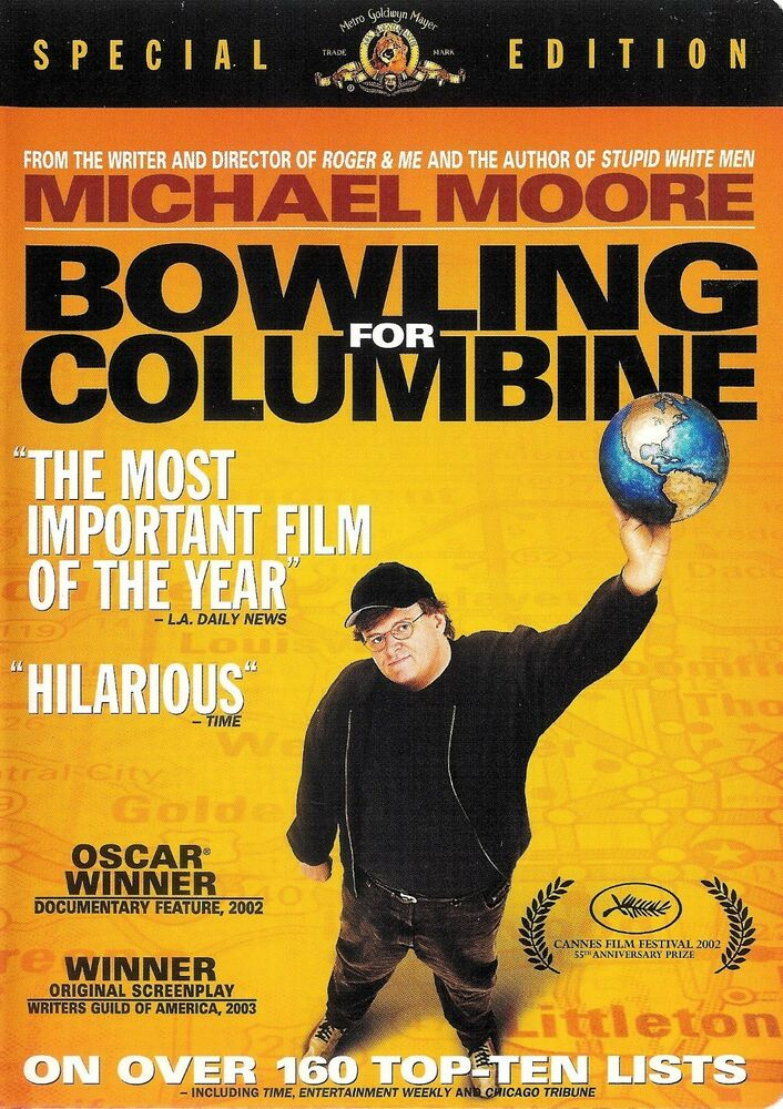 bowling for columbine is not a A o scott reviews documentary movie bowling for columbine, written and  not  that mr moore, a cheerful rabble-rouser and author of the best.