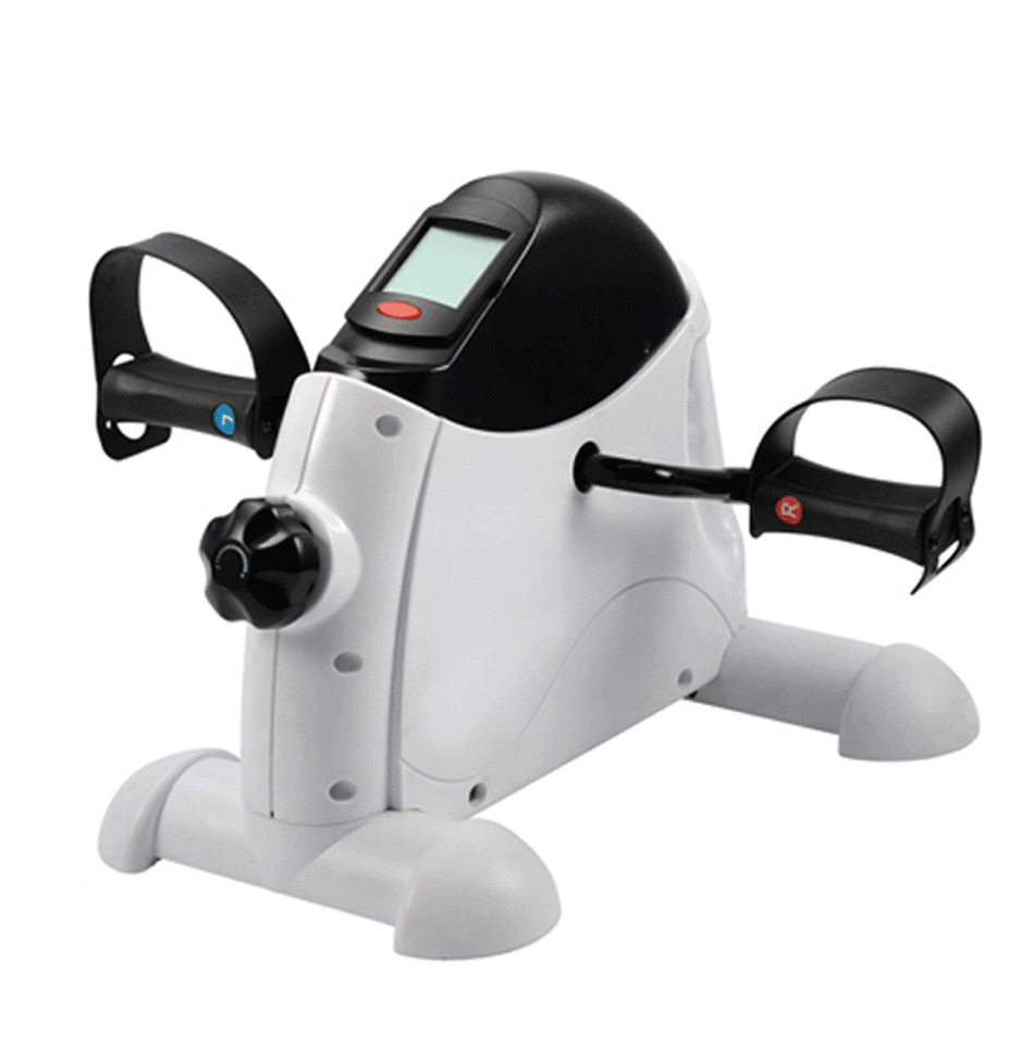 Digital Arms Legs Rehab Stationary Bicycle Bike Pedaler ...