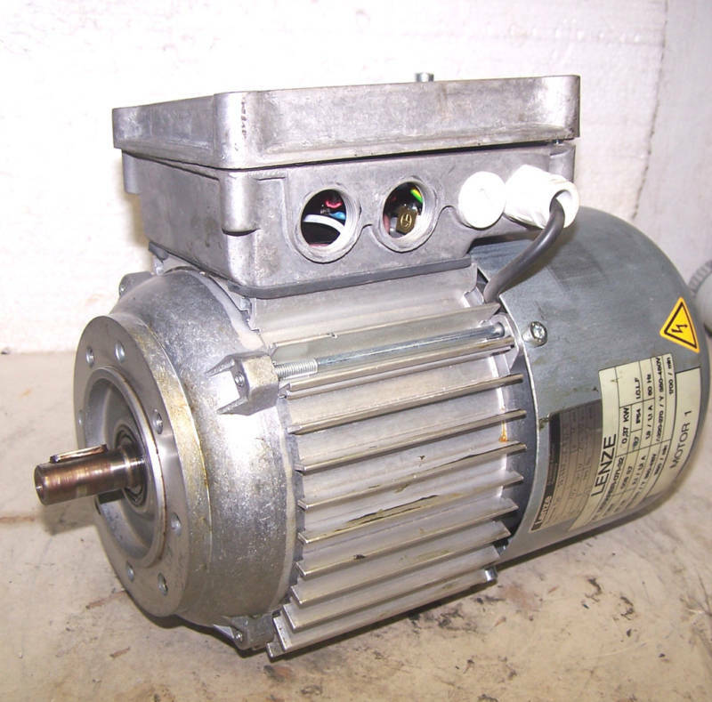 lenze 37 kw ac electric motor 1700 rpm 277 480 volt ebay