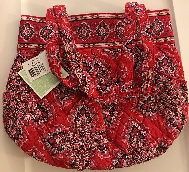 Vera Bradley Retired Frankly Scarlet Morgan Bag