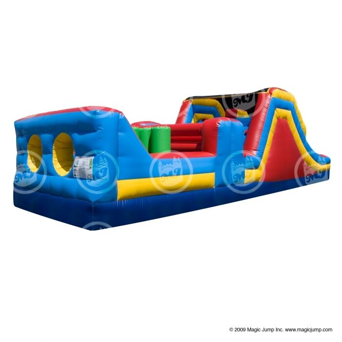 Obstacle Course Bounce House New Commercial Jump ...