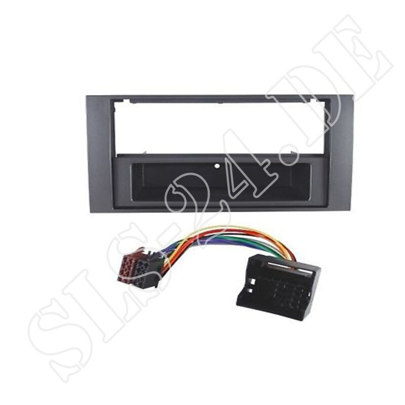 ford focus ii transit connect iso adapter 2 din radio. Black Bedroom Furniture Sets. Home Design Ideas