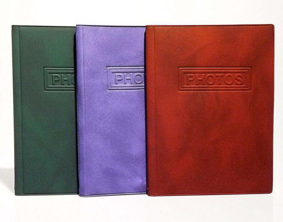 photo albums 4x6 size  red green blue