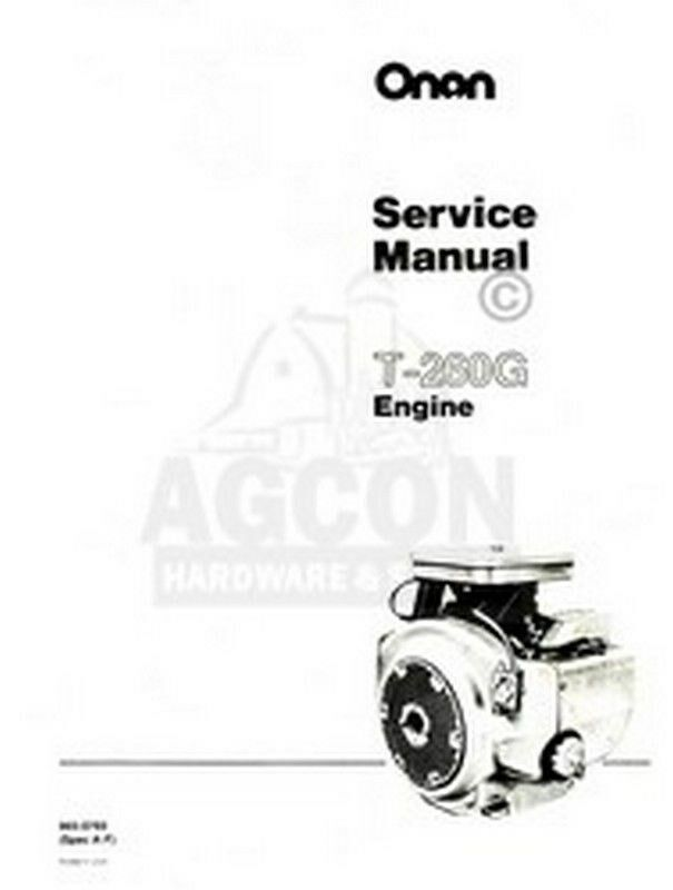 onan engine parts manual