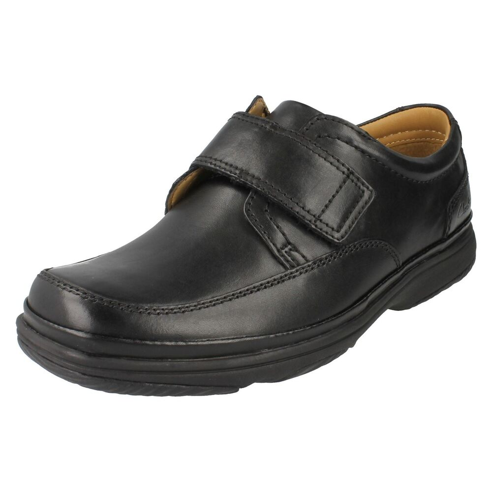 clarks turn mens black wide fit shoes ebay